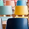 Colored auditorium chairs_125