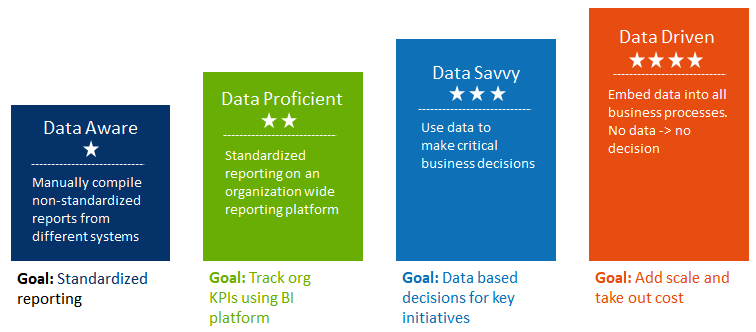 Dell data maturity model