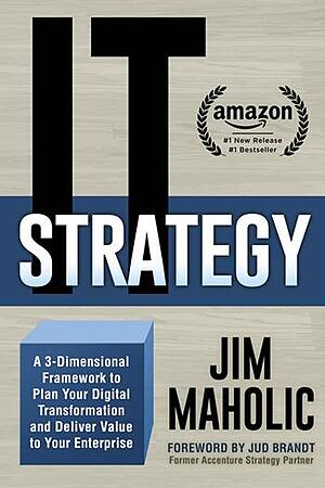 IT Strategy bookcover Jim Maholic