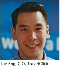 Joe Eng CIO Travelclick w name