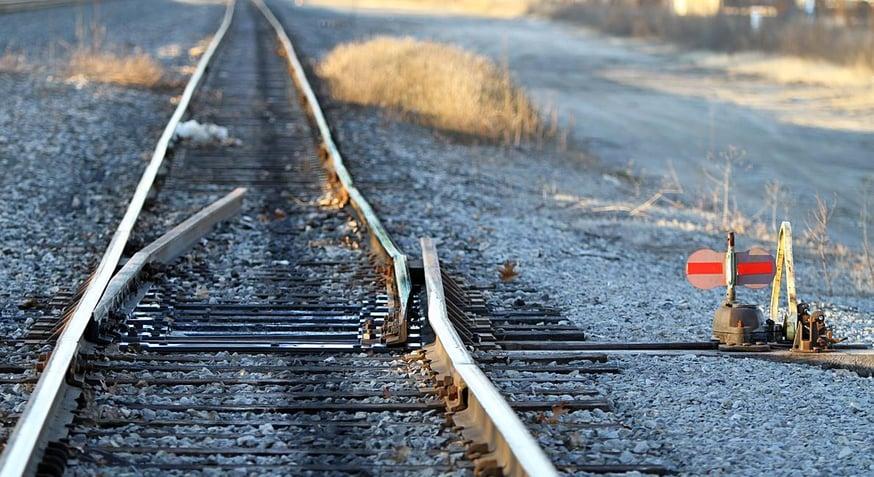 Railroad track derail4