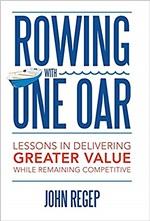 Rowing with one oar