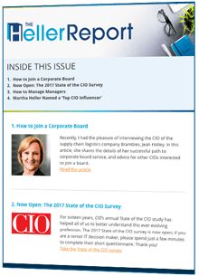 CIO headhunter