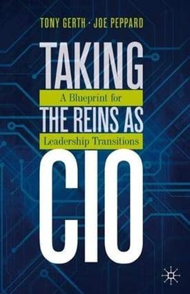 Taking the Reins as CIO bookcover Tony Gerth Joe Peppard