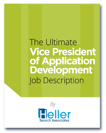 VP of Application Development Job Description template