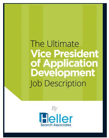 VP of Application Development Job Description template