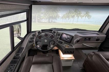 Winnebago HZ Cockpit