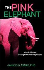 pink elephant Janice Asare