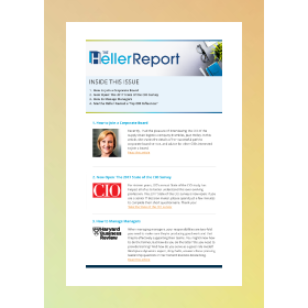 Join the IT conversation with the Heller Report