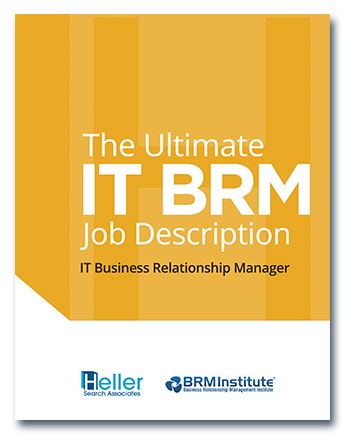 The Ultimate IT BRM Job Description Heller Search eBook
