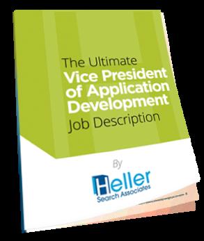 Ultimate VP of App Job Description eBook Heller Search