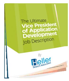 The VP of Application Development Job Description eBook