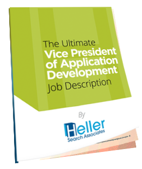 Ultimate VP of AppDev Job Description eBook Heller Search