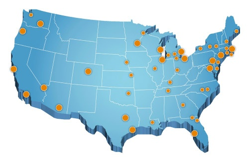 Heller Search Industries and Locations