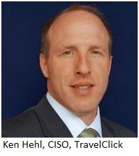 ken hehl CISO Travelclick w name